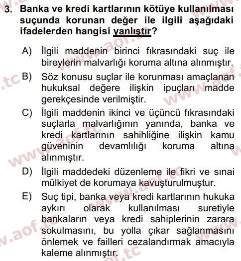 2018 Bilişim Hukuku Final 3. Çıkmış Sınav Sorusu