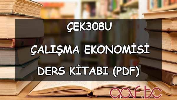 Çalışma Ekonomisi ( ÇEK308U ) Ders e-Kitabı