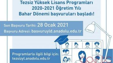 Açıköğretim Yüksek Lisans Başvuruları Başladı (2021 Bahar Dönemi)