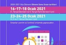 2021 Güz Dönemi Final Tarihleri Açıklandı