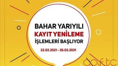 İstanbul Aof Bahar Dönemi Kayıt Yenilemeleri Başlıyor